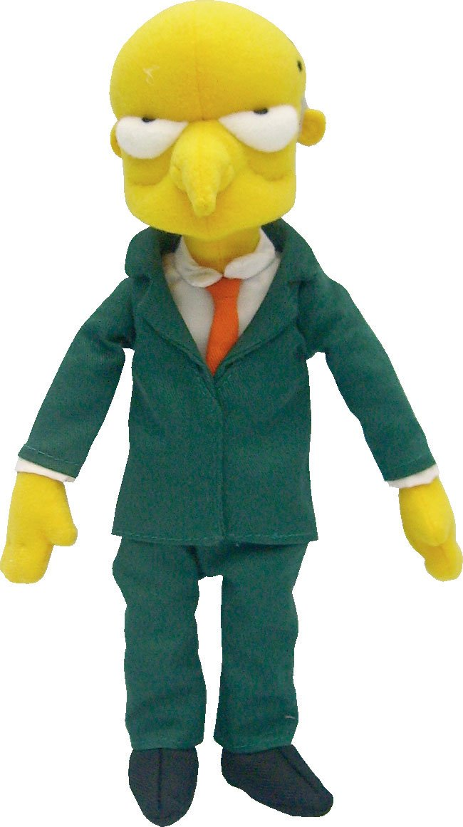 United Labels - Peluche - Simpsons Burns 37cm - 8423599045085https://amzn.to/2B1GMqh
