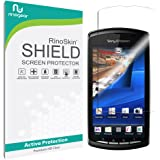 Sony Ericsson Xperia Play Screen Protector [Military-Grade] RinoGear Premium HD Invisible Clear Shield w/ Lifetime Replacements