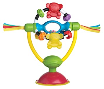 Playgro Baby Toy High Chair Spinning Toy 0182212107 for baby infant toddler children is Encouraging Imagination with STEM//STEAM for a bright future Great Start for A World of Learning