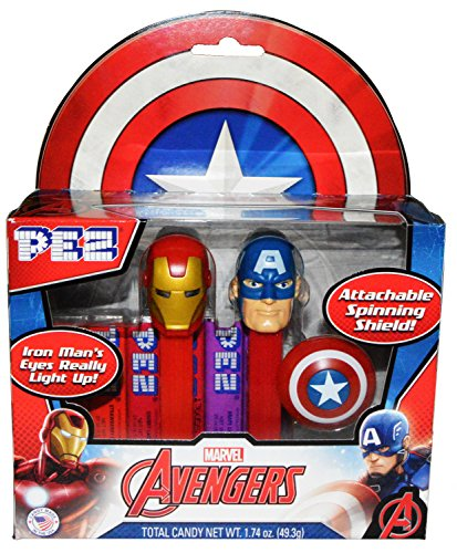 pez-marvel-avengers-captain-america-iron-man-twin-pack