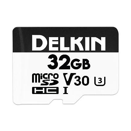 Delkin Devices DDMSDW66032G - Tarjeta de Memoria microSDHC ...