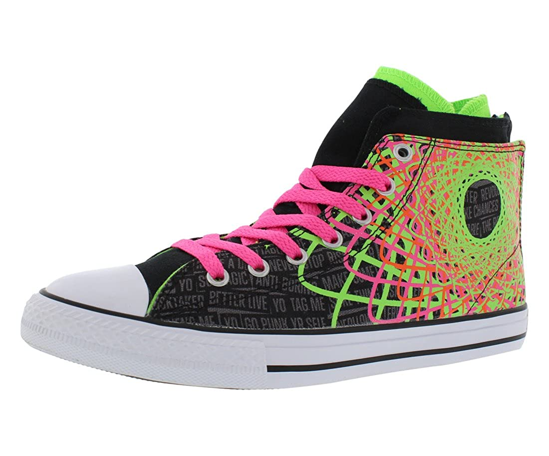 Buy Converse Girls Chuck Taylor All Star Zipback BlackGreen