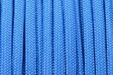 BoredParacord Brand Paracord/Parachute Cord 7-Strand, 550 Lb. Break Strength Guaranteed U.S. Made, Type III - Colonial Blue Paracord (50 feet)