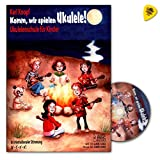 Come on, let's play ukulele! With this educational piece playing ukulele is really fun - ukulele school for children by Karl Knopf - with CD and Dunlop Plek - AMB5064 9783869475646