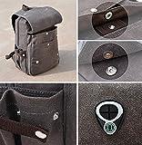 Gumstyle Detective Conan Anime Cosplay Canvas Backpack Rucksack Shoulder Laptop School Bag for Boys Girls Students