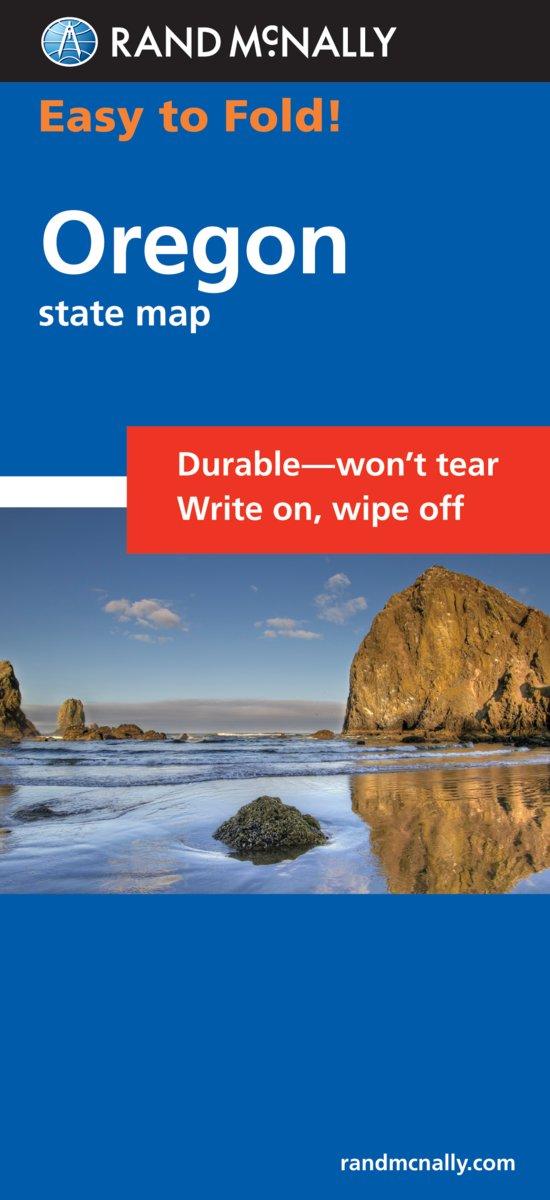 Easy To Fold Oregon EasyFinder Rand McNally - Rand mcnally easy to fold maps