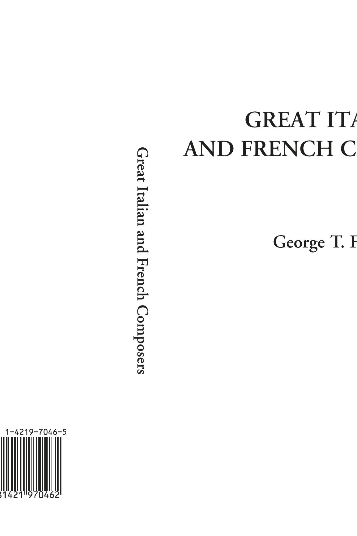 Download Great Italian and French Composers pdf