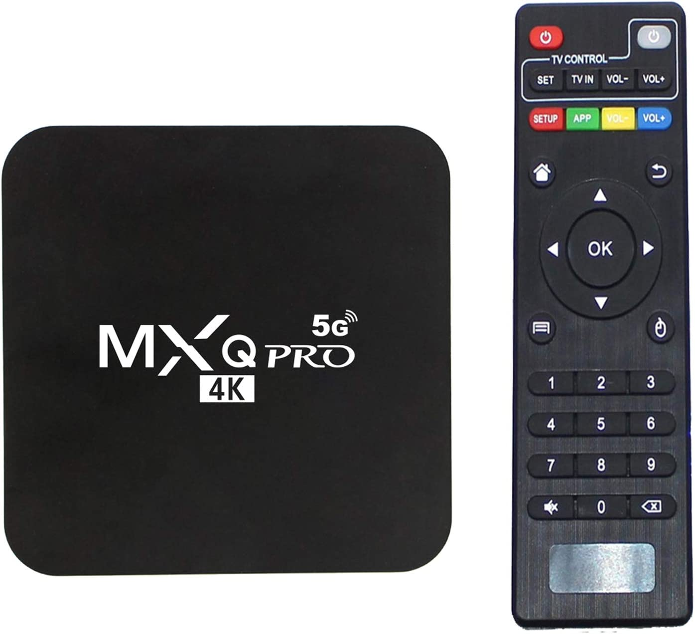 Amazon Com Mxq Pro 5g Android 10 0 Tv Box Cicci Pro 5g 2021 Upgraded Version Ram 2gb Rom 16gb Android Smart Box H 265 Hd 3d Dual Band 2 4g 5 8g Wifi Quad Core Home Media Player