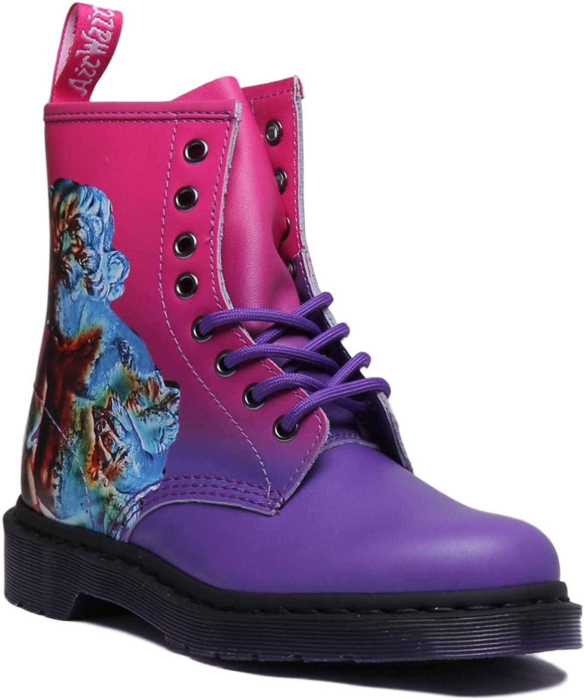 Dr. Martens 1460 Technique Bottines Rose/Violet Rose