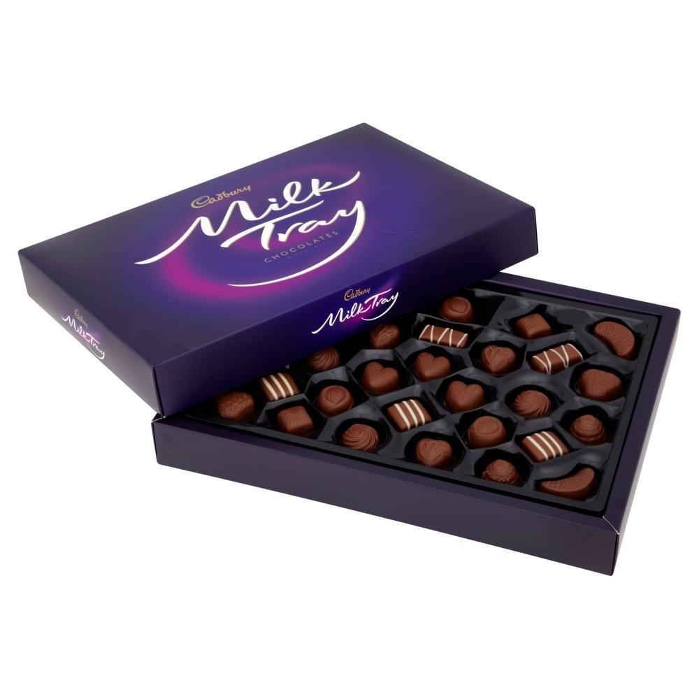 Amazon.com : Cadbury Milk Tray Cask 600g : Chocolate Assortments ...