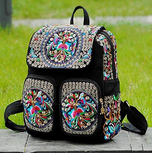 Bolsa de hombro / bordado Bolsa / mochila de viaje ( Color : 8# ) 1#