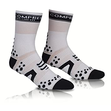 Compressport - Calcetines, Color Blanco: Amazon.es: Deportes y aire libre