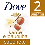Kit 2 Sabonetes em Barra Karite e Baunilha 90 G, Dove
