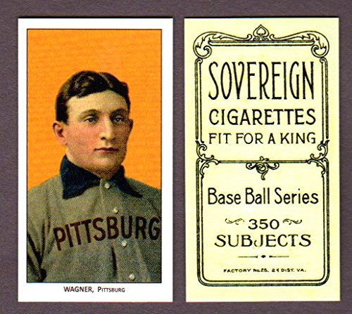 Honus Wagner 1909 T206 Tobacco Reprint Card with Sovereign for sale  Delivered anywhere in USA