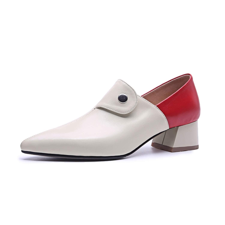 White 4cm meiguiyuan Women Summer high Heels Platform Sexy Genuine Leather Pumps Spring Heels shoes 2019