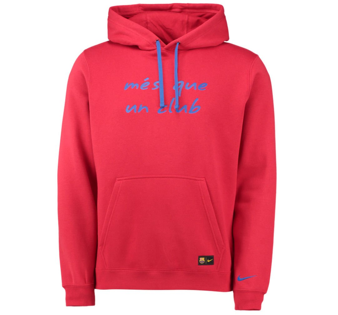 rouge (Gym rouge   Sport Royal   Sport Royal) XL Nike FCB M NSW sweat à capuche PO CRE - Sweat-Shirts