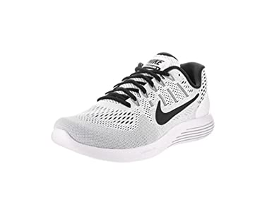 866920e73793 ... reduced nike mens lunarglide 8 running shoe white black 8.5 dm 845f7  2d2aa