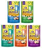 #7: Wellness Kittles Cat Treat Variety – 5 Pack - 5 Flavors - 2 oz Each (5 Total Pouches)