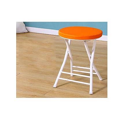 Amazon.com: Hongyuantongxun Silla plegable gruesa, asiento ...