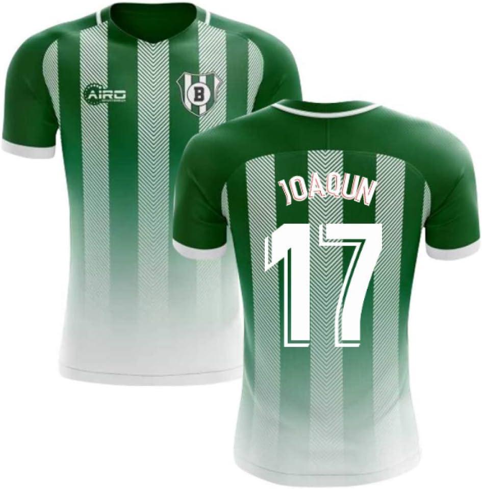 Airosportswear 2019-2020 Real Betis Home Concept - Camiseta de fútbol para niños, Infantil, Verde, XSB 24-26