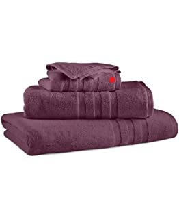 Polo Ralph Lauren Palmer Bath Evening Amethyst Wash Towel 13