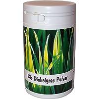SANOS Bio Dinkelgras Pulver, 100g aus eigenem Anbau frisch vom Bodensee