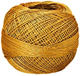 Liz Metallic Size 20 Thread 155 yrds 25 grams, Gold
