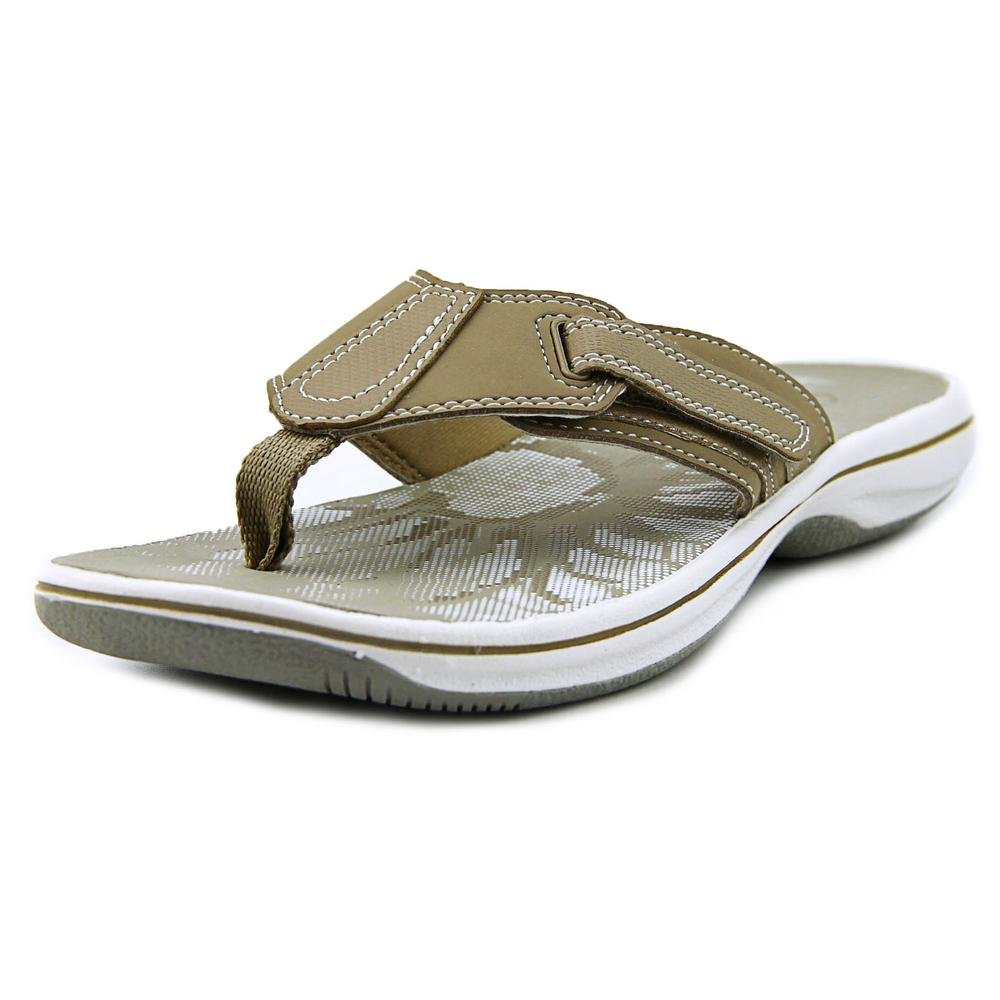 Clarks Thong Brinkley öffnen Toe Synthetic Thong Clarks Sandale Graustone a1c81b