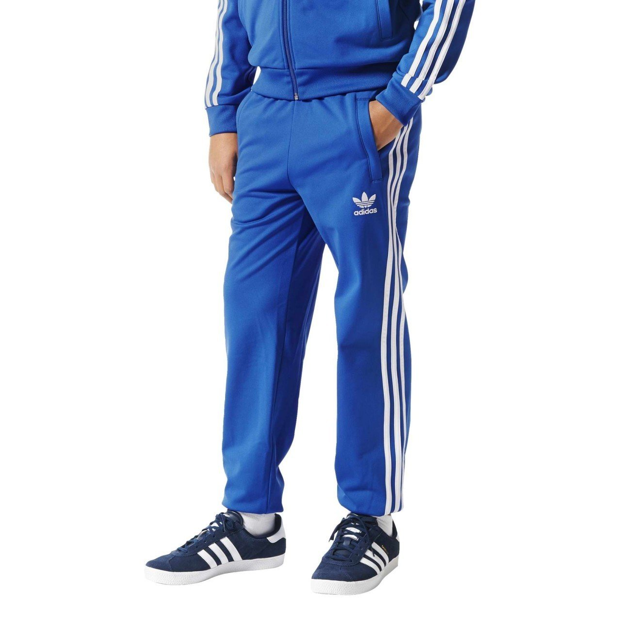 adidas Kinder Superstar Hose Trainingshose Sporthose (158