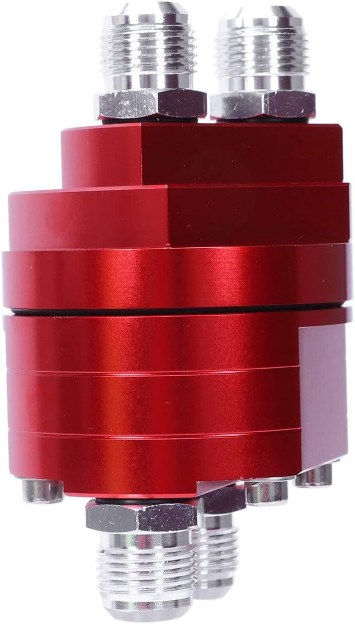 4X16 Liseng 2 ?l Filter Relocation Stecker Sandwich Passen Platte Kit 3