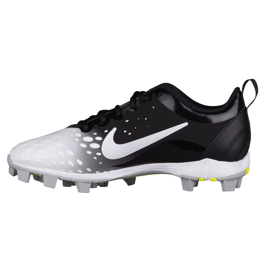 NIKE B006U09XZ2 Women's Hyperdiamond 2 Keystone Softball Cleat B006U09XZ2 NIKE 10.5 B(M) US|Black/White-white-wolf Grey 2a623d