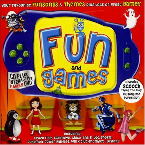 Crazy Frog - Fun And Games [cd  Interactive Dvd] By Various Artists - Zortam Music