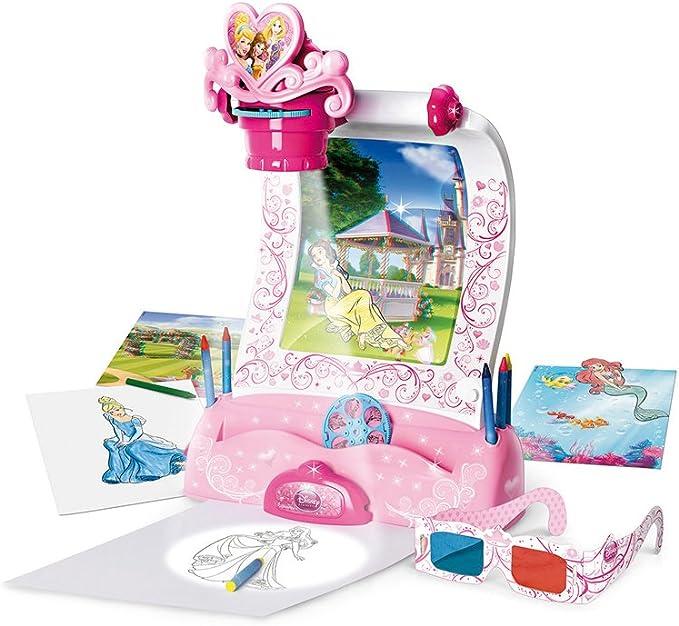 Disney Princesas Proyector 3D (Famosa 700009496): Amazon.es ...