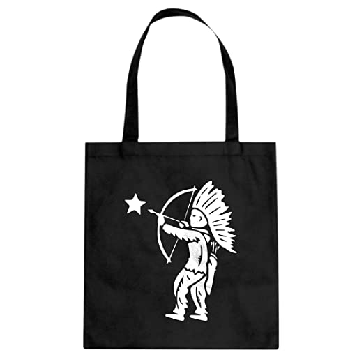 Amazoncom Tote Tootsie Pop Indian Large Black Canvas Bag Clothing