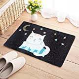 HOMEE Carpet-Antiskid Mat Cartoon Carpet Floor Mat Kitchen Bathroom Bathroom Entrance Water Absorption,Xym,5080Cm,,4060Cm,Xym