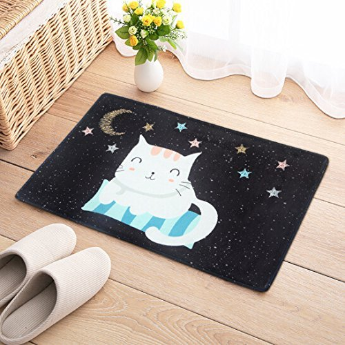 HOMEE Carpet-Antiskid Mat Cartoon Carpet Floor Mat Kitchen Bathroom Bathroom Entrance Water Absorption,Xym,5080Cm,,4060Cm,Xym by HOMEE