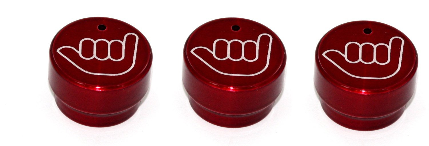 All Sales 4401HLR Hang Loose Heater//AC Knob, Pack of 3