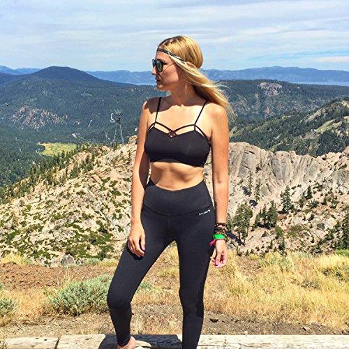 Baleaf Women's High Waist Yoga Pants Non See-Through