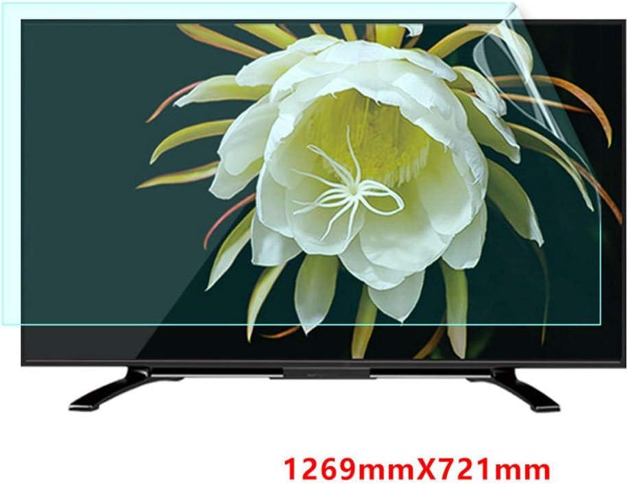 Televisor LCD De 50-58 Pulgadas Protector De Pantalla Antirreflejo/Anti Luz Azul/Película Antiarañazos, Alivia La Tensión Ocular, Superficie Mate, para HDTV LCD, LED, OLED,58Inch: Amazon.es: Hogar