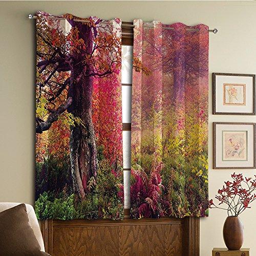 Diseño personalizado cortinas/Vintage encaje cortina de ventana/cortina con ollados cortinas opacas/con aislamiento térmico...