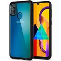Spigen Ultra Hybrid Designed for Samsung Galaxy M30S - Matte Black