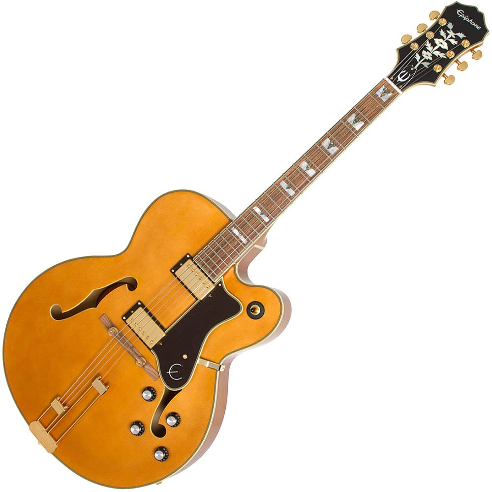 Epiphone The Broadway Vintage Natural エレキギター エピフォン   B07L4TR858