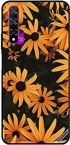For Huawei Nova 5T Case Sun Flowers