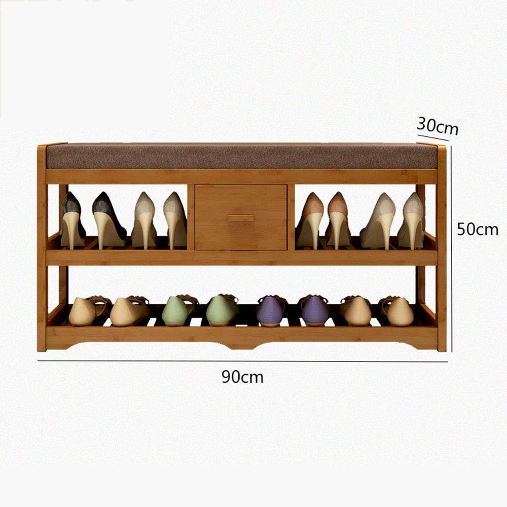 ZR- 靴ラック多層防塵 - 多機能靴キャビネット - 靴ベンチホームスペース節約 (サイズ さいず : 90cm) B07HM742Z2  90cm