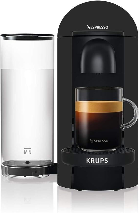 Krups YYY3922FD - Cafetera de cápsulas para espresso o café largo, 40 ml a 410 ml, color negro mate: Amazon.es: Hogar