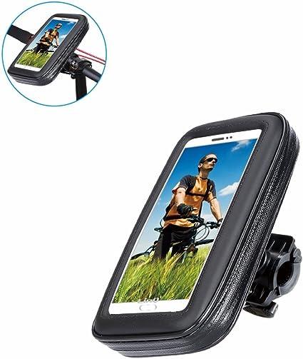 Soporte Funda para teléfono móvil para bicicletas, universal ...