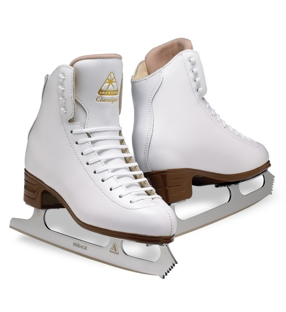 Classique Figure Skates - Girls C-WIDTH 13.5 by Jackson Skates (Image #1)