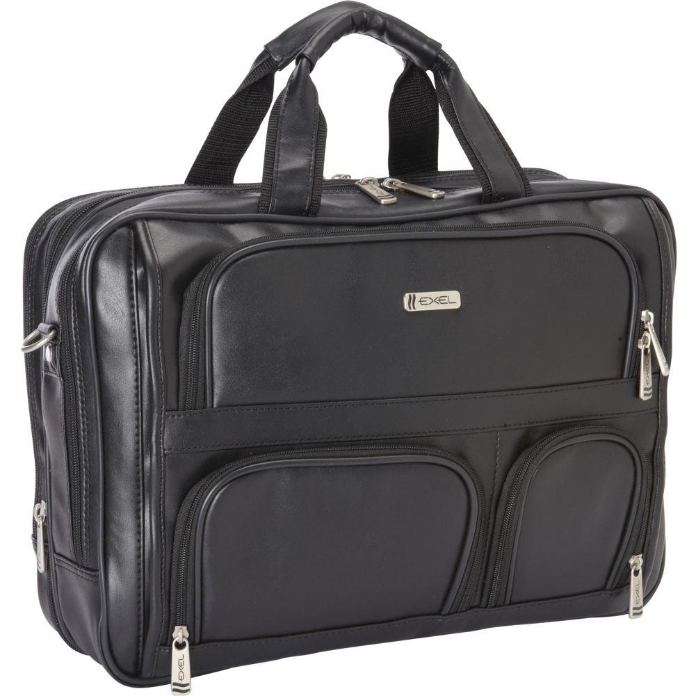 Heritage Double Compartment Expandable Laptop Case (Black)