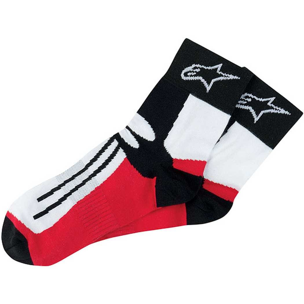 Alpinestars Road Racing Socks , Style: Ankle Length, Size: Sm-Md, Size Modifier: 6-9 4703011-30-SM