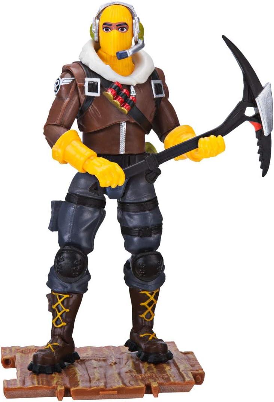 Jazwares-Fortnite figura Raptor (Toy partner FNT0014) coleccionables Teknique, multicolor, talla única , color/modelo surtido